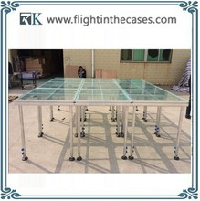 glass optical stage organic glass stage