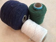 2015 unique style excellent quality velvet recycled cotton yarn