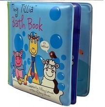 foam pvc color change bath book / Avon Tiny Tillia Bath Book