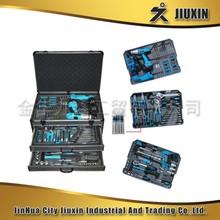 206PC refrigeration tool kitHand tool set lady pink household Multifunctional tool kit