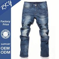 Custom Fitted Breathable Denim Men Set