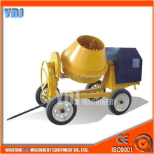 fully stocked high efficiency electric portable concrete mixer