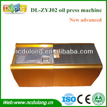 New advance!2014 CE approved portable DL-ZYJ02 with high extraction rate and quality black seed oil press machine crazy sale