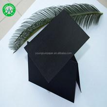250g paperboard write on black paper export to korea/black cardboard
