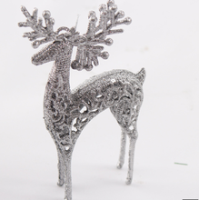 Christmas decorative deer pandents,plastic deer for christmas decoration