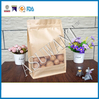 custom Matte film material China's secret paper bag