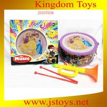 plastic toy trumpet