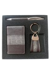 High End Leather Business Card Holder Set /Promotion Business Gift Set