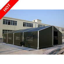Aluminium frame used military tents, big army tent hot sale