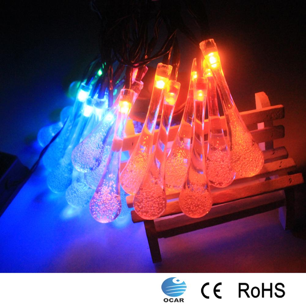 solar dekoration lichterkette led weihnachtsbeleuchtung. Black Bedroom Furniture Sets. Home Design Ideas