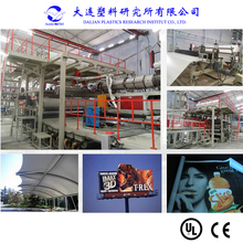 advertisement PVC flex banner production line