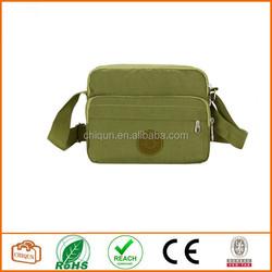 2015 Chiqun Dongguan Men Women Casual Cross Body Shoulder Bag Green