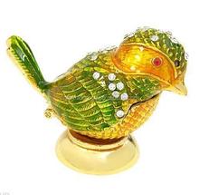 Bird metal box holiday gifts