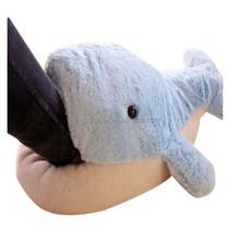 good price pretty plush dolphin animal slippers