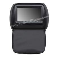 Goocar665AVl universal TFT LCD HD Headrest 7 inch headrest monitor with zipper