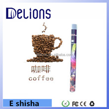 Factory direct sale colorful disposable 500 puffs portable hookah pen e shisha from Delions