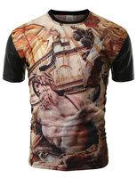 High Quality 2015 New Products Custom cut and sew t-shirt custom