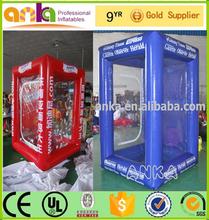 Custom inflatable money machine/inflatable money booth/inflatable money machine for sale