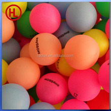 cheap Color custom logo ping pong ball ,table tennis ball wholesale