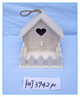 home decor christmas craft wooden bird house