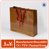 250g industrial packaging top grade shopping tote paper bag