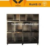 Stainless steel Wholesale Dog Cages/Crates Lighting Cage For Puppy/Animal