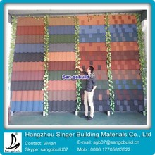 Big Size Hot Sale 0.4mm Thickness Steel Sheets Stone Coated Roofing Price