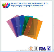 Different size document pvc mesh bag for stationery