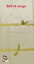 2015 new arrival 100% cotton beige color brocade pure silk fabrics B0018