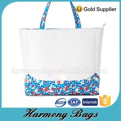 Custom printed new summer personalized tote bag