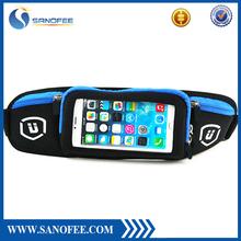 Water Resistant Running Belt, Waist Belt with Adjustable Pocket for Smart Phone, Keys, Cards
