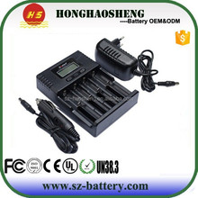 Newest li-ion/lifepo4/nimh battery charger Soshine H4 Lcd charger