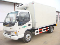 Customized antique howo refrigerated cargo van