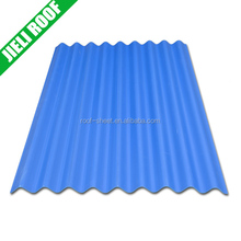 small wave pvc or synthetic resin roofing sheet