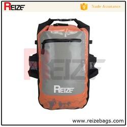 High quality outdoor camping waterproof tarpaulin dry bag