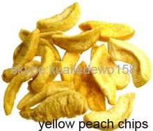 low price vacuum packing peach chips