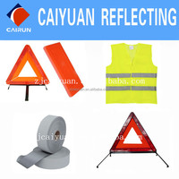 CY Warning Triangle Reflective Vest High Visibility
