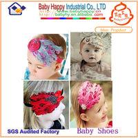 New baby feathers headband, fashion flower headbands instock