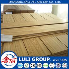 12mm high compressed non--slip waterproof balcony wood flooring for indoor