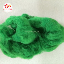 Dope dyed colored polyester staple fiber,pet bottles recycle polyester staple fiber,fiber polyester,recycled psf