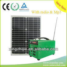 Eco-friendly generator with Mp3, radio functions