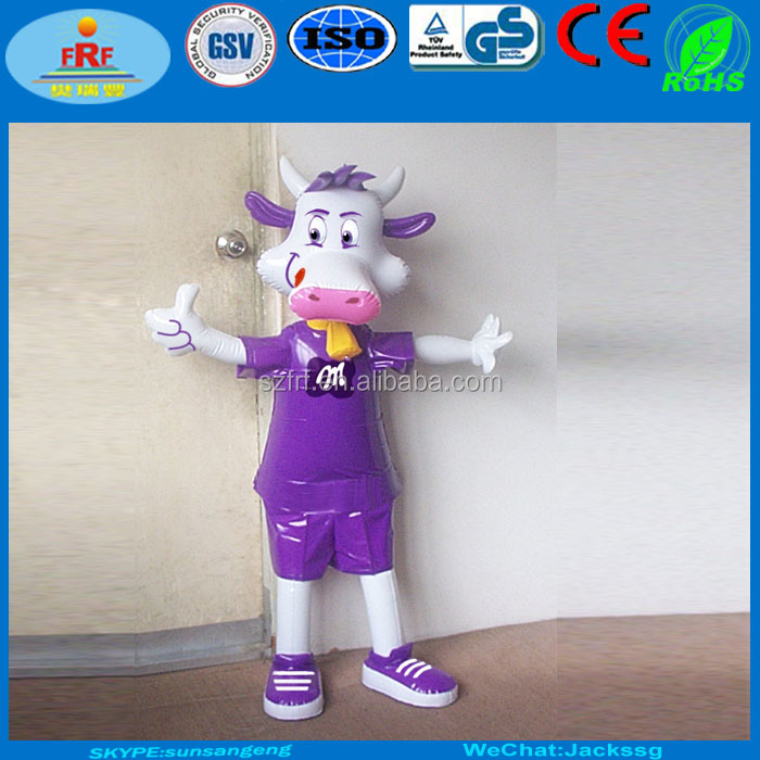 Standing Inflatable Milka Cow Character,Standing People ...