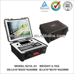 wholesale carrying waterproof instrument hard plastic cases with custom logo