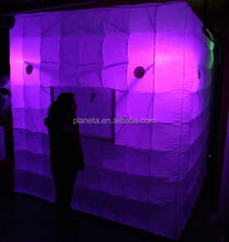 cheap white inflatable custom made photo booth