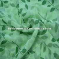 Hot! !Chiffon fabric/printed fancy dress fabric