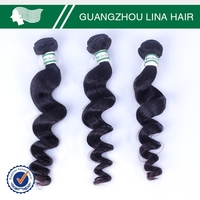 Wholesale price top quality virgin nature girl hair weave