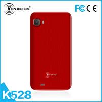 Stylish design 2G/3G Dual sim card dual standby 4Gb+2Gb 1200mAh touch screen china cheap smart phone
