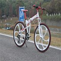 Mountain bike quadro, dobramento da bicicleta de montanha, barato bicicleta dobrável