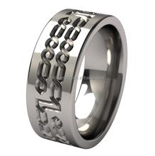 Chinese Factory Direct Wholesale Galahad titanium wedding band