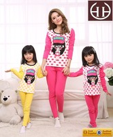 Children clothing 2015 family set clothes cheap plus size woman clothing for mother